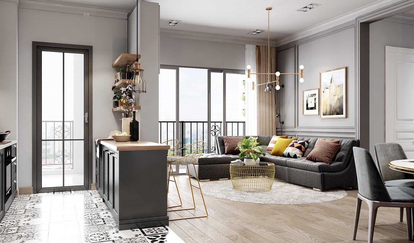 tư vấn thiết kế nội thất chung cư 2