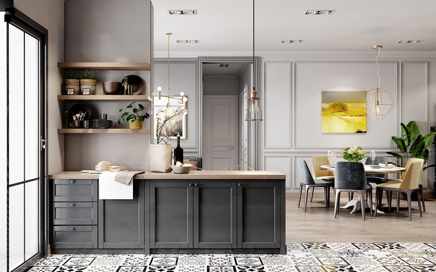 tư vấn thiết kế nội thất chung cư 4