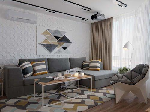 tư vấn thiết kế nội thất chung cư 70m2 đẹp