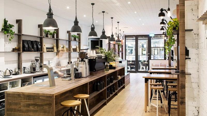 tư vấn thiết kế quán cafe nhà ống đẹp 2