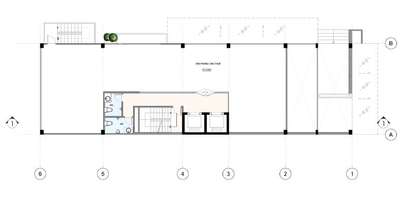 văn phòng kết hợp căn hộ