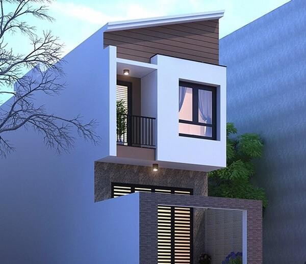 xây nhà 2 tầng giá 400 triệu 11