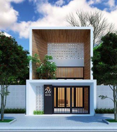 thiết kế nhà 2 tầng giá 400 triệu 3