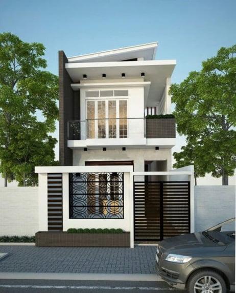 xây nhà 2 tầng giá 400 triệu 13