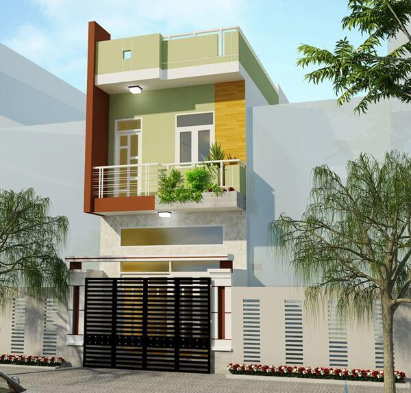 xây nhà 2 tầng giá 400 triệu 14