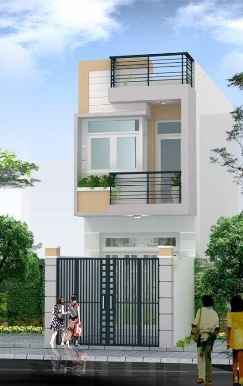 xây nhà 2 tầng giá 400 triệu 8