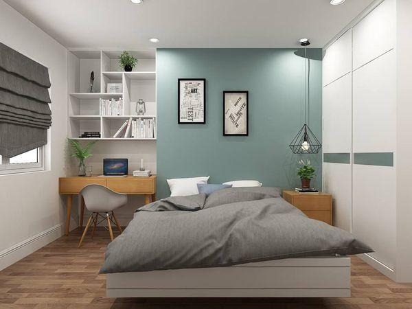 phòng ngủ mẫu nhà ống 3 tầng