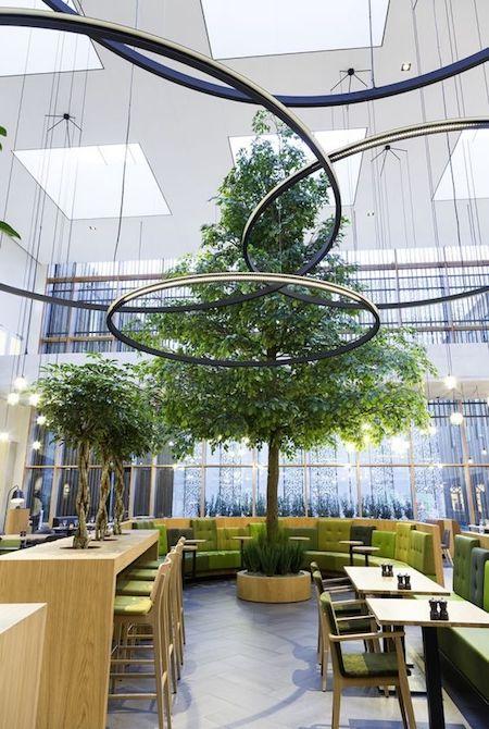 ý tưởng thiết kế quán cafe 9