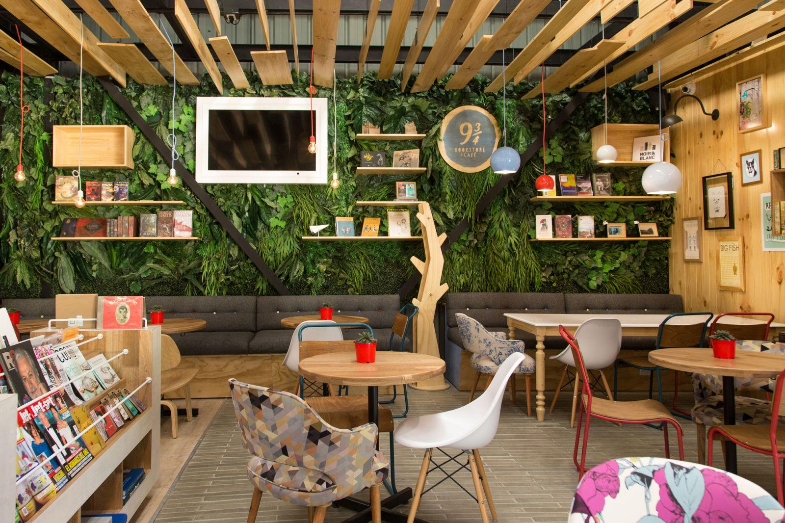 ý tưởng thiết kế quán cafe 11