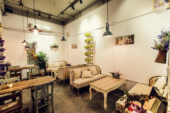 ý tưởng thiết kế quán cafe 13