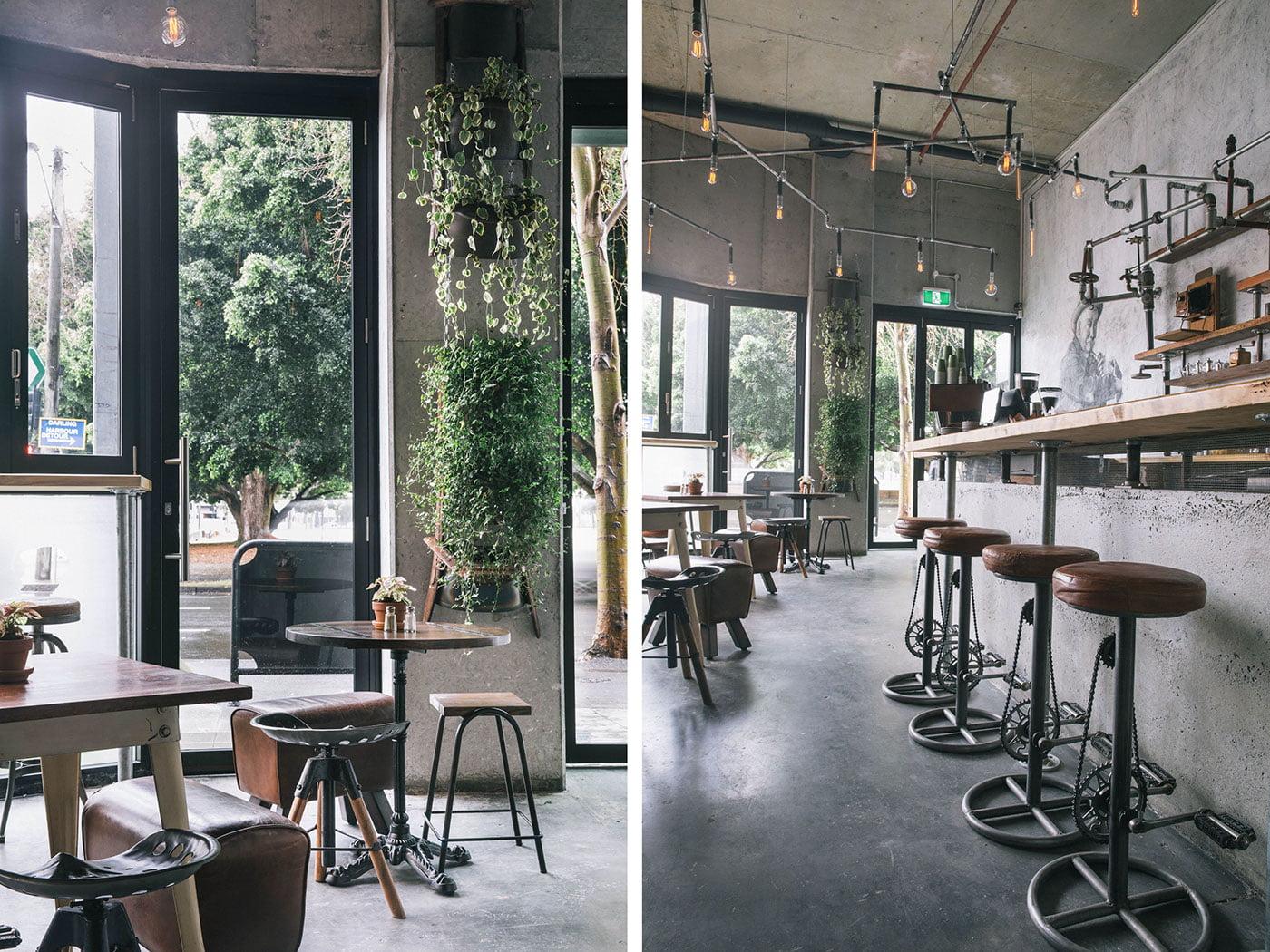ý tưởng thiết kế quán cafe 4
