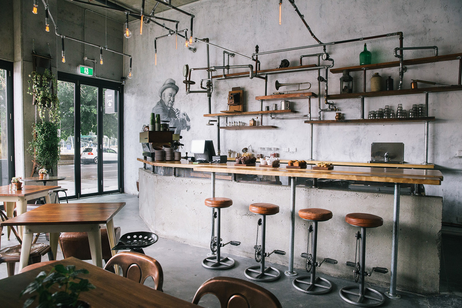 ý tưởng thiết kế quán cafe 5